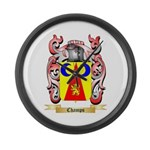 Champs Large Wall Clock