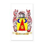 Champot Rectangle Car Magnet