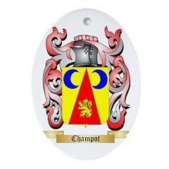 Champot Ornament (Oval)