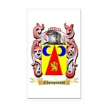 Champonnet Rectangle Car Magnet