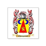 Champonnet Square Sticker 3