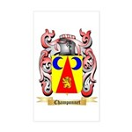 Champonnet Sticker (Rectangle)