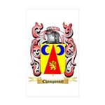 Champonnet Sticker (Rectangle 50 pk)