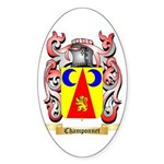 Champonnet Sticker (Oval)
