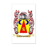 Champonnet 20x12 Wall Decal