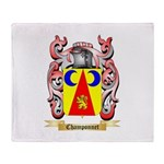 Champonnet Throw Blanket