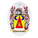 Champonnet Ornament (Oval)