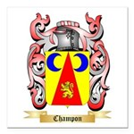 Champon Square Car Magnet 3