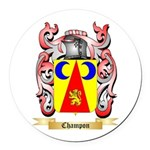 Champon Round Car Magnet