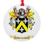 Champniss Round Ornament