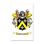 Champniss Rectangle Car Magnet