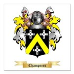 Champniss Square Car Magnet 3