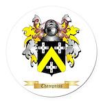Champniss Round Car Magnet