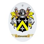 Champniss Ornament (Oval)