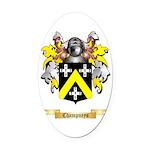 Champneys Oval Car Magnet