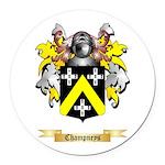 Champneys Round Car Magnet