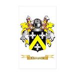 Champneys Sticker (Rectangle 10 pk)