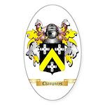 Champneys Sticker (Oval 50 pk)