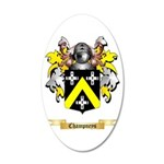 Champneys 20x12 Oval Wall Decal
