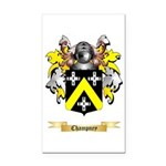 Champney Rectangle Car Magnet