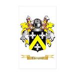Champney Sticker (Rectangle 10 pk)