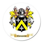 Champness Round Car Magnet