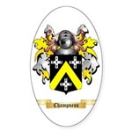 Champness Sticker (Oval 50 pk)