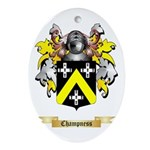 Champness Ornament (Oval)