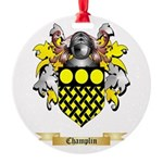 Champlin Round Ornament