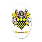 Champlin Oval Car Magnet