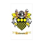 Champlin Sticker (Rectangle 50 pk)