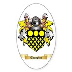 Champlin Sticker (Oval 50 pk)