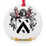 Champion Round Ornament