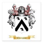 Champion Square Car Magnet 3