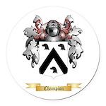 Champion Round Car Magnet