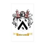 Champion Sticker (Rectangle 10 pk)