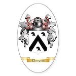 Champion Sticker (Oval 50 pk)