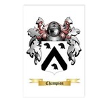 Champion Postcards (Package of 8)