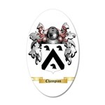 Champion 35x21 Oval Wall Decal