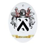 Champion Ornament (Oval)
