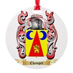 Champet Round Ornament