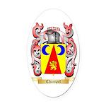 Champet Oval Car Magnet