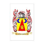 Champeix Mini Poster Print