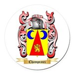 Champeaux Round Car Magnet