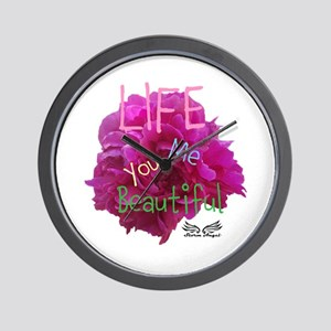 LIFE (In Bloom Edition) Wall Clock