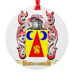 Champeau Round Ornament