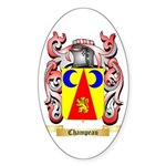Champeau Sticker (Oval)