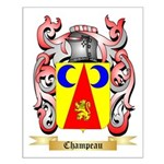 Champeau Small Poster
