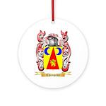Champeau Ornament (Round)