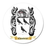 Chambrier Round Car Magnet
